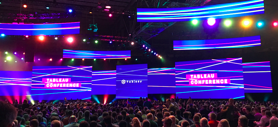Insights from the Tableau Conference TC18